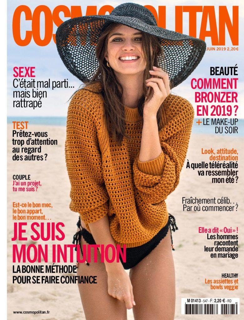 Cover Cosmopolitan juin 2019